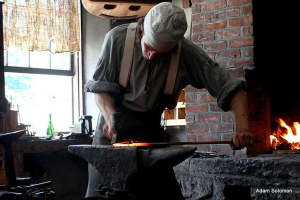 Blacksmith at Cooperstown Farmer's Museum