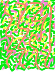 A doodle made on Doodle Buddy.