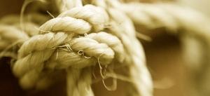 The knots of attachment.