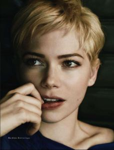 Talented actress Michelle Williams has contemplated  quitting acting.
